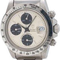 "Tudor Oyster Date Chronograph ref # 79180 ""Big Block"" circa 1980s"