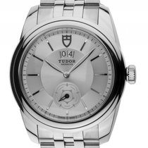 Tudor Glamour Double Date Stahl Automatik Armband Stahl 42mm...
