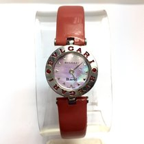 Bulgari B.zero.1 Steel Ladies Watch W/ Red Rubies & ...