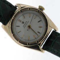 Rolex Ovetto Bubble Back Rose Gold 14kt