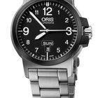 Oris BC3 Advanced, Day Date, Black Dial, Steel