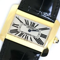 Cartier Tank Divan Large   Yellow Gold w6300556