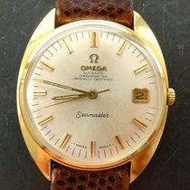Omega Seamaster Chronometer Gelbgold 18K 750 Vintage Automatik