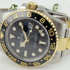 Rolex GMT Master II Black stainless steel and yellow gold