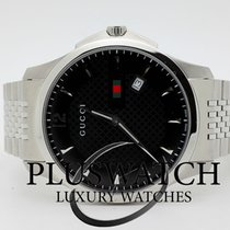 Gucci G-Timeless Black Dial Stainless Steel YA126309