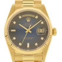 Rolex Men's Rolex Day Date 18K Yellow Gold 18038 Presidential