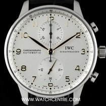 IWC Stainless Steel Portuguese Chronograph Gents B&P IW371445