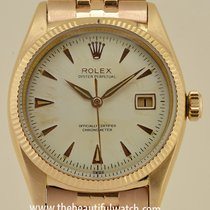 Rolex Datejust Rose Gold Rare