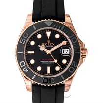 Rolex Yacht-Master Black/Everose Gold Lady 37mm - 268655