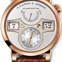 A. Lange & Söhne 140.032 Zeitwerk 41.9mm 18kt Rose Gold
