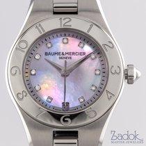 Baume & Mercier Linea Stainless Steel Quartz 27mm Ladies'...