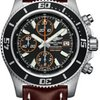 Breitling Superocean Chronograph II Abyss Orange Satin