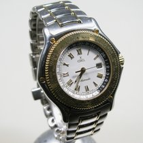 Ebel Voyager, Automatik, GMT, Ref. 1124913, Stahl/Gold