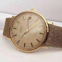 Omega De Ville Yellow Gold Mens Watch 14 krt (35 mm)
