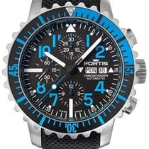 Fortis B-42 Marinemaster Blue Chronograph