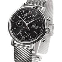 IWC Portofino Chronograph Mens 42mm Automatic in Steel