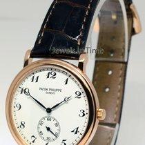 Patek Philippe Calatrava 5022 18k Rose Gold Mens Watch &...