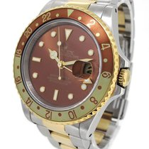 Rolex 18K Gold/SS Rolex Oyster Perpetual Date GMT Master II 16713
