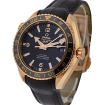 Omega Seamaster Planet Ocean 600M GMT in Rose Gold