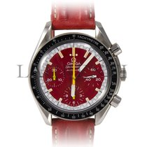 Omega Speedmaster Reduced Michael Schumacher 3810.61.41 red