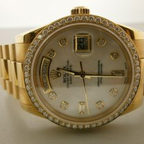 Rolex President 118238 18k Day/date 36mm Watch W/custom Dial...