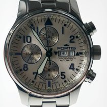 Fortis F-43  Chronograph Limited Edition blaue Ziffern