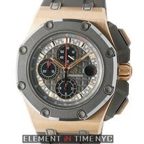Audemars Piguet Royal Oak Offshore Rose Gold Black Rubber...