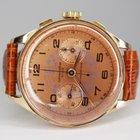 Chronographe Suisse Cie Handaufzug Chronograph 18kt Gol...