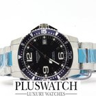 Longines HydroConquest 39 mm Blue Gents Automatic nuovo new