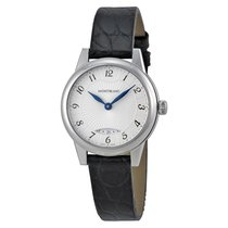 Montblanc Boheme Silver Dial Black Leather Ladies Watch