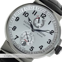 Ulysse Nardin Marine Chronometer Stahl 1183-126/