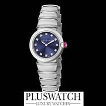 Bulgari Lucea Quartz 28mm Steel Blue Dial 102568