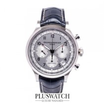 Baume & Mercier Capeland Chronograph Silver Dial Blue ...