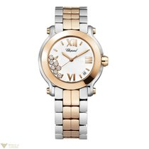 Chopard Ladies 278488-9001 Happy Sport II Rose  Gold  Watch