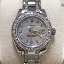 Rolex 80299 Datejust Masterpiece 29mm Mother of Peal Dial