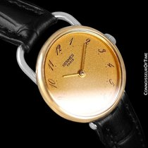 Hermès Arceau Ladies Watch - 18K Gold Plated & Stainless...
