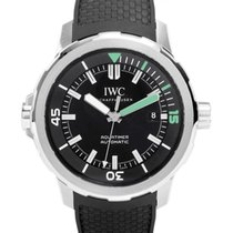 IWC Schaffhausen IW329001 Aquatimer Automatic Black Index...