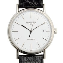Longines Presence Stainless Steel White Automatic L4.921.4.12.2