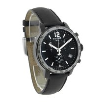 Tissot Quickster Mens Black Chronograph Quartz Watch T095.417....