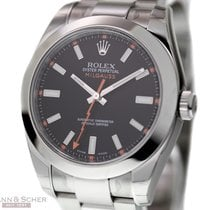 Rolex Milgauss Ref-116400 Stainless Steel Box Papers Bj-2013...