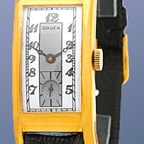 Gruen Rectangle Strapwatch.