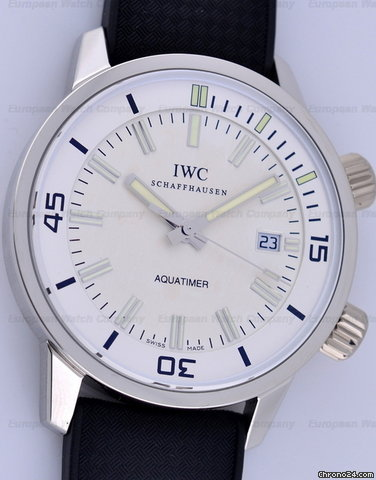 IWC Aquatimer Automatic Vintage Collection PLATINUM LIMITED