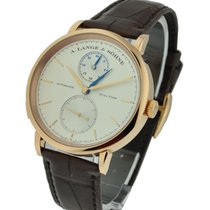A. Lange & Söhne 385.032 Saxonia Dual Time Mens in Rose...