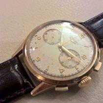 Longines Cronografo 30 ch Jumbo 18 kt 38 mm