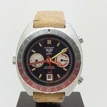 Heuer Autavia GMT Automatic Chronograph Watch Rf 11630 C.14