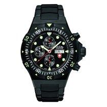 Swiss Military Watch Conger Nero Auto Chronograph 2556