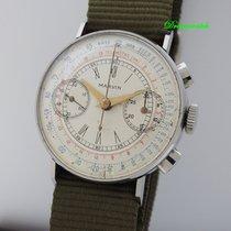 Marvin Telemetre Chronograph Vintage Valjoux 22