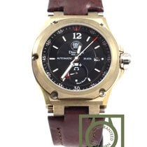 Anonimo Dino Zei Nautilo Bronze power reserve black dial NEW