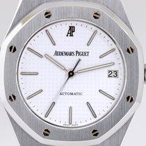 Audemars Piguet Royal Oak Stahl white Dial Steel Automatik Cal...