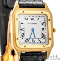 Cartier Santos Dumont 18k Yellow Gold Manual Winding Watch...